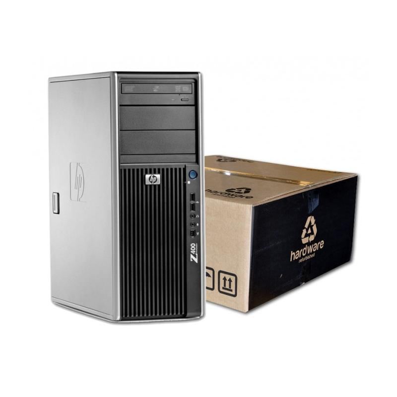 HP WorkStation Z400Intel Xeon Quad Core W3520 2.66 GHz. · 12 Gb. DDR3 ECC RAM · 1.00 Tb. SATA · ATI Fire Pro 3800 512 Mb. -