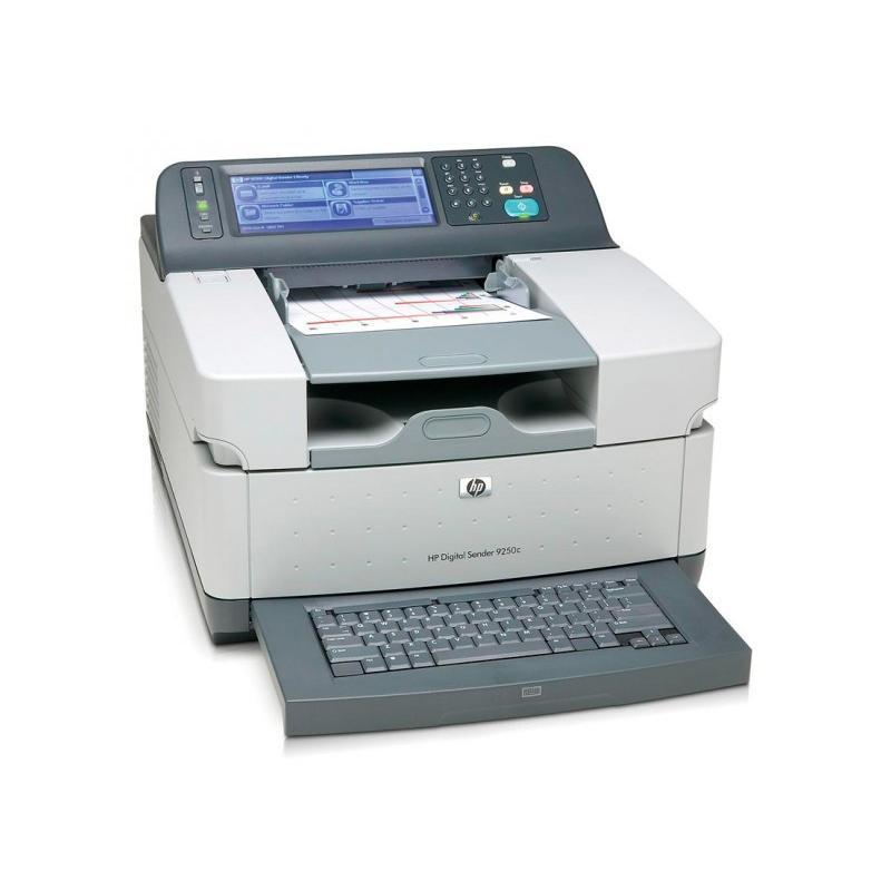 HP Digital Sender 9200cTecnología: Escaner Color de Documentos - Funciones: Envio de documentos por E-mail y Escaner compart