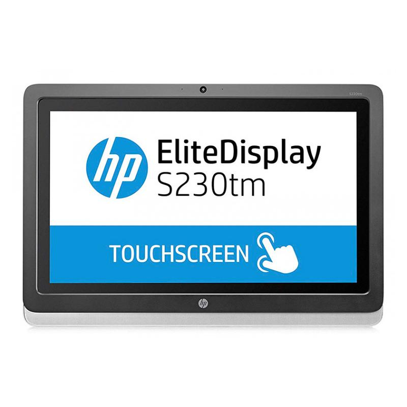 HP S230tm Táctil Táctil 23 '' FullHD con Altavoces · 16:9 · Resolución 1920x1080 · Dot pitch 0.265 mm · Respuesta 7 ms · Cont