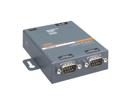 Servidor de dispositivos Lantronix UDS2100 - 1 x Red (RJ-45) - 2 x Puerto Serial - Fast Ethernet - Imagen 1