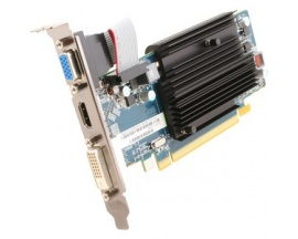 Tarjeta Gráfica SapphireRadeon HD 6450 - 625 MHz Principal - 2 GB DDR3 SDRAMPerfil bajo - Simple Ranura Space necesaria - 1334 M
