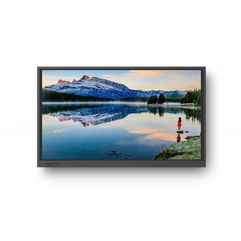 """TT-7519RS pantalla de señalización 190,5 cm (75"""") LED 4K Ultra HD Pantalla táctil Panel plano interactivo Negro - Imagen 1"""