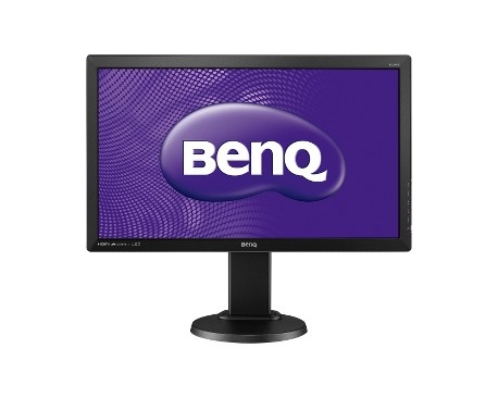 "Monitor LCD BenQ BL2405HT - 61 cm (24"") - LED - 16:9 - 2 ms - Inclinación de la pantalla ajustable - 1920 x 1080 - 16,7 Mill"