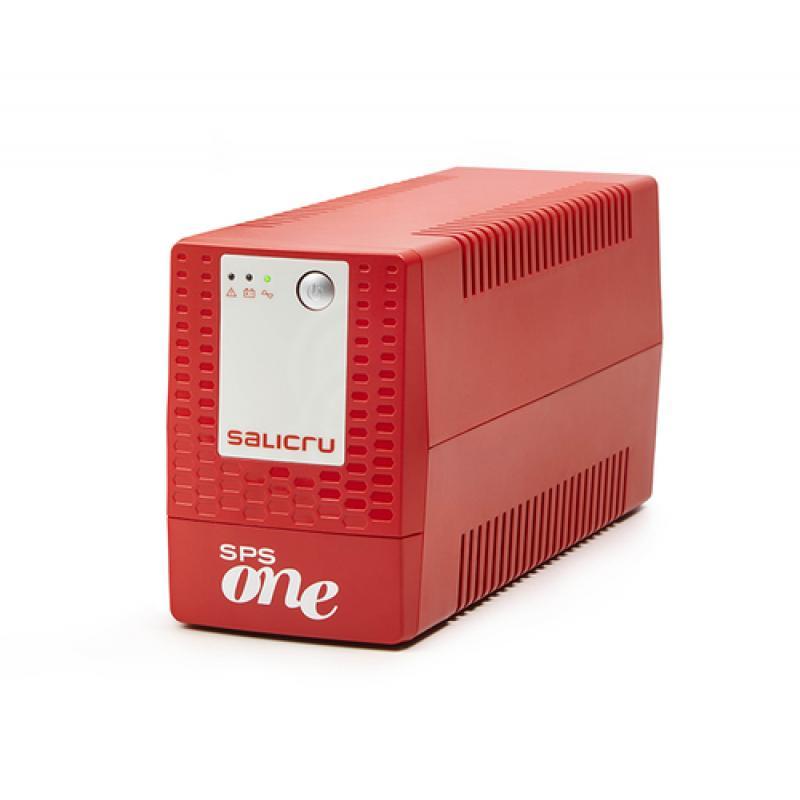 Salicru SPS ONE sistema de alimentación ininterrumpida (UPS) Línea interactiva 500 VA 240 W 2 salidas AC - Imagen 1