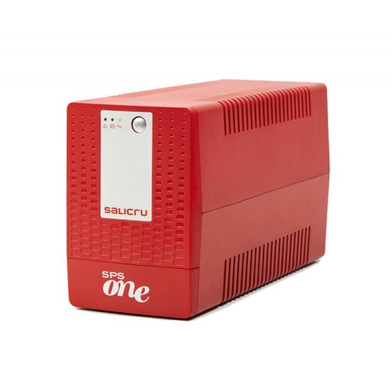 Salicru SPS ONE sistema de alimentación ininterrumpida (UPS) Línea interactiva 1100 VA 600 W 4 salidas AC - Imagen 1