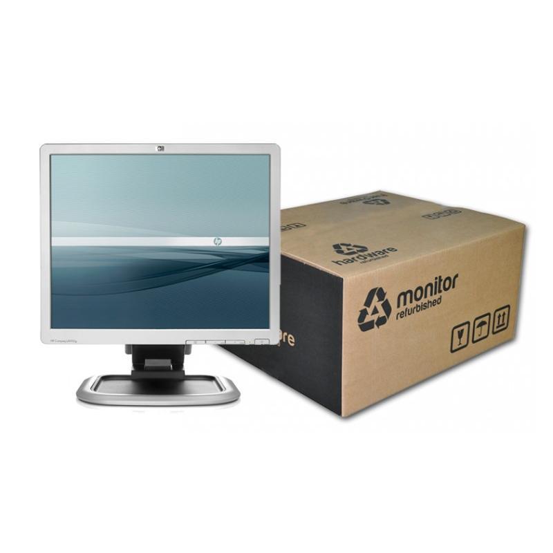 HP LA1950G TFT 19 '' 5:4 · Resolución 1280x1024 · Dot pitch 0.294 mm · Respuesta 5 ms · Contraste 800:1 · Brillo 300 cd/m2 · 1x