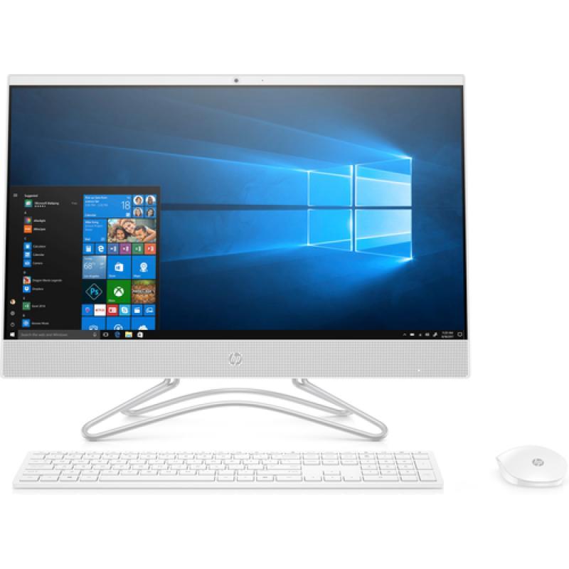 "HP 24-f0082ns 60,5 cm (23.8"") 1920 x 1080 Pixeles 9na generación de procesadores Intel® Core™ i3 8 GB DDR4-SDRAM 512 GB SSD Blan"