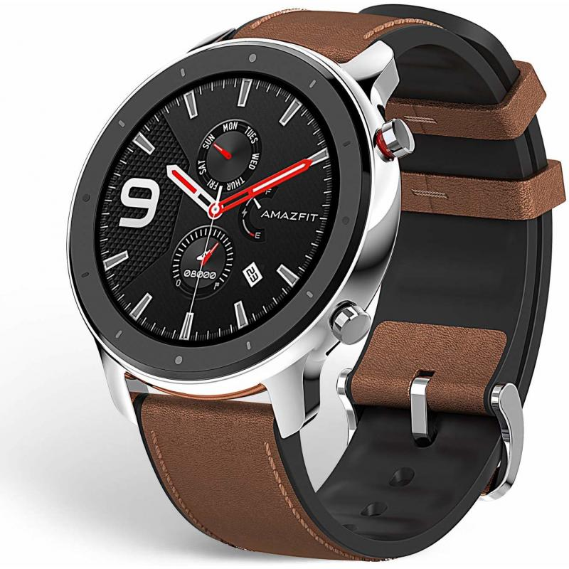 "GTR reloj inteligente Acero inoxidable AMOLED 3,53 cm (1.39"") GPS (satélite) - Imagen 1"