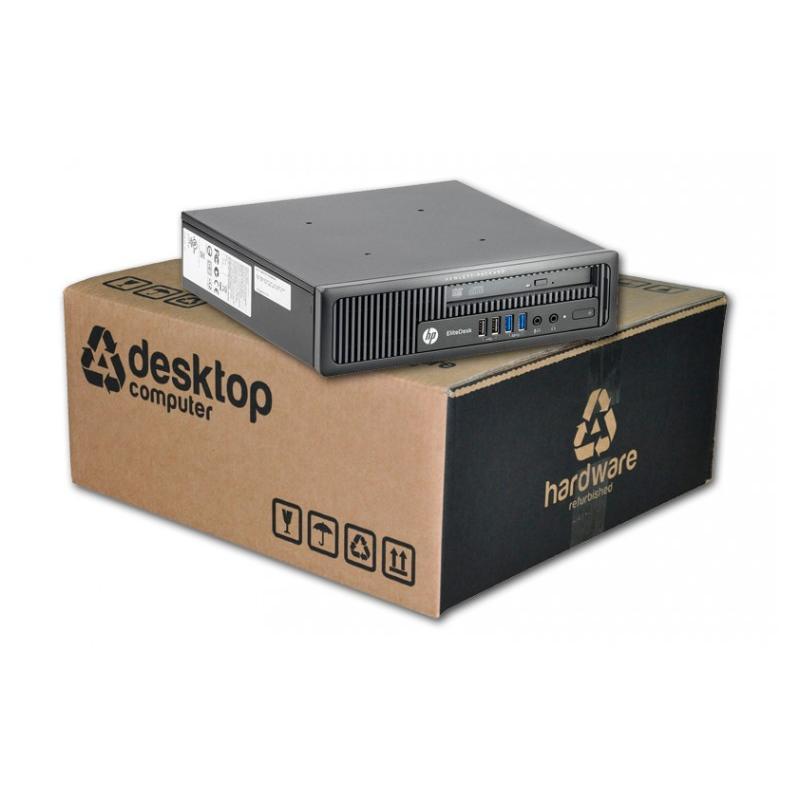 HP EliteDesk 800 G1 USDT Intel Core i5 4690S 3.2 GHz. · 8 Gb. SO-DDR3 RAM · 240 Gb. SSD · DVD-RW · COA Windows 10 Pro - Imagen 1