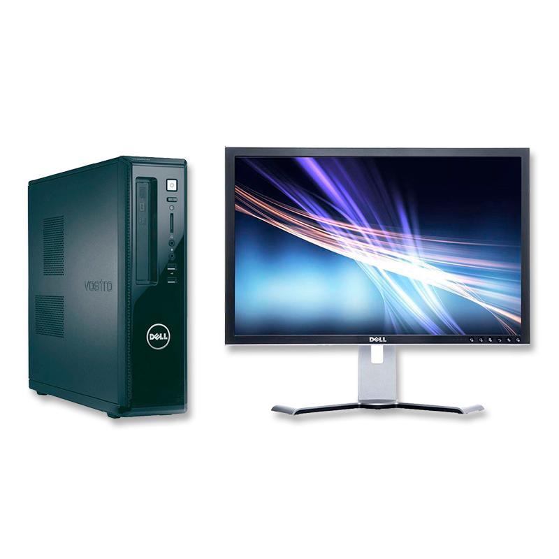 Dell Vostro 260S + DELL 2009WIntel Core i3 2120 3.3 GHz. · 4 Gb. DDR3 RAM · 500 Gb. SATA · DVD-RW · Windows 10 Pro - Monitor