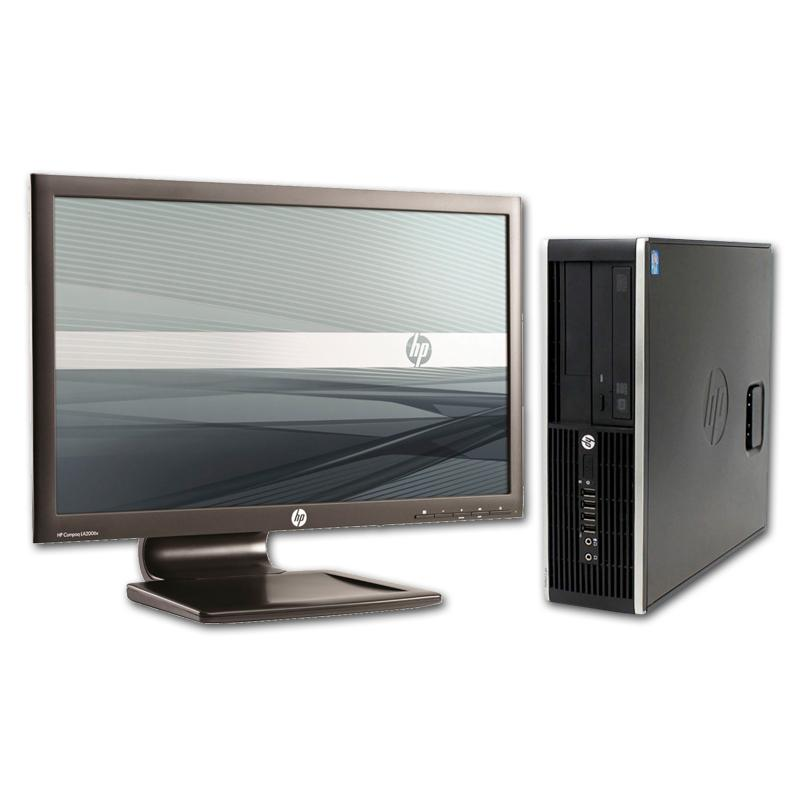 HP 8300 Elite SFF i7 + TFT 24''Intel Core i7 3770 3.4 GHz. · 8 Gb. DDR3 RAM · 500 Gb. SATA · DVD · Windows 10 Pro · USB 3.0