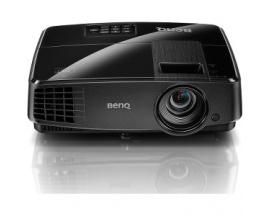 Proyector DLP BenQ MS506 - 3D Ready - 576p - HDTV - 4:3 - Frontal, De Techo - 800 x 600 - SVGA - 13,000:1 - 3200 lm - USB - 270