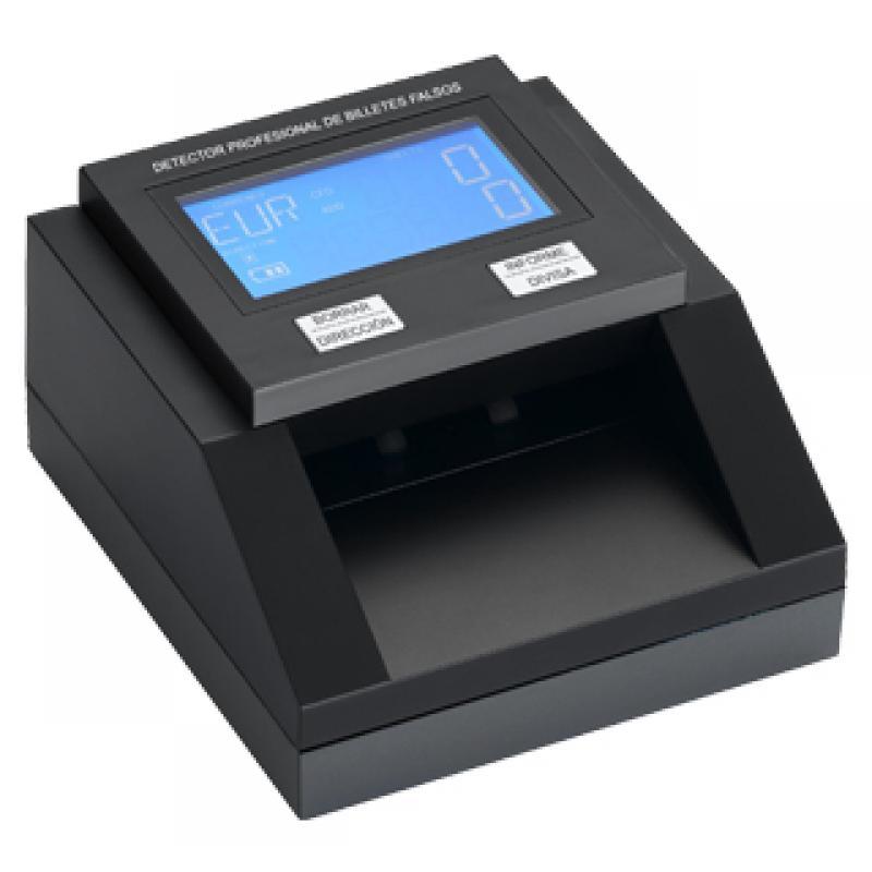 D8 detector de billetes falsos Negro - Imagen 1