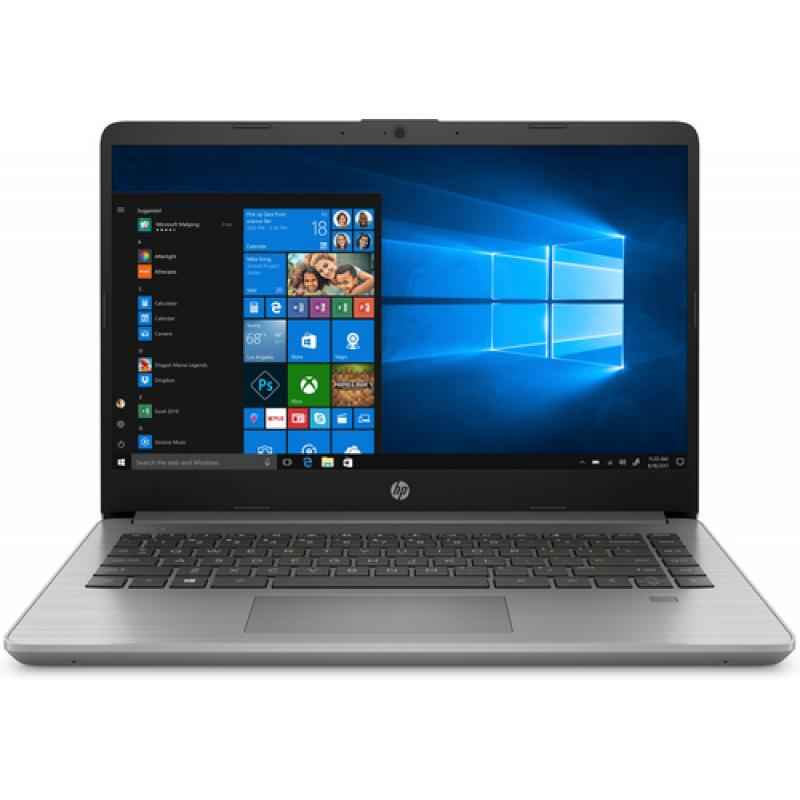 "HP 340S G7 Gris, Plata Portátil 35,6 cm (14"") 1920 x 1080 Pixeles Intel® Core™ i5 de 10ma Generación 8 GB DDR4-SDRAM 256 GB SSD"