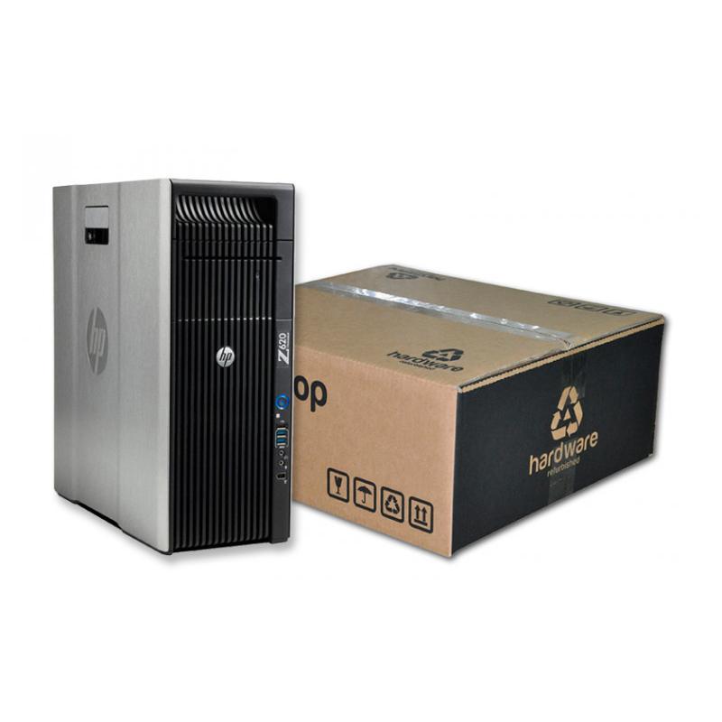 HP WorkStation Z620 Torre Intel Xeon Octa Core E5 2670 0 2.6 GHz. · 64 Gb. DDR3 ECC RAM · 240 Gb. SSD · DVD · Windows 10 Pro · T