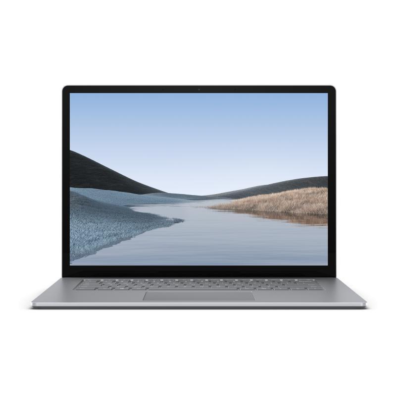 "Surface Laptop 3 Platino Portátil 38,1 cm (15"") 2496 x 1664 Pixeles Pantalla táctil Intel® Core™ i5 de 10ma Generación 8 GB DDR4"