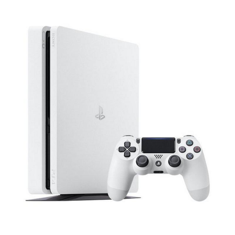Sony PlayStation 4 Slim 500GB Blanco Wifi - Imagen 1