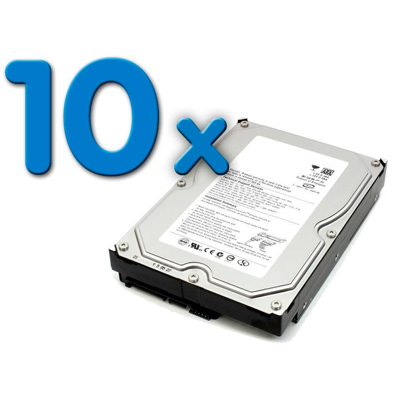 - 3,5'' SATA 500 Gb. Pack 10Pack 10 Unidades: Disco Duro 3,5'' SATA 500 Gb. - Imagen 1