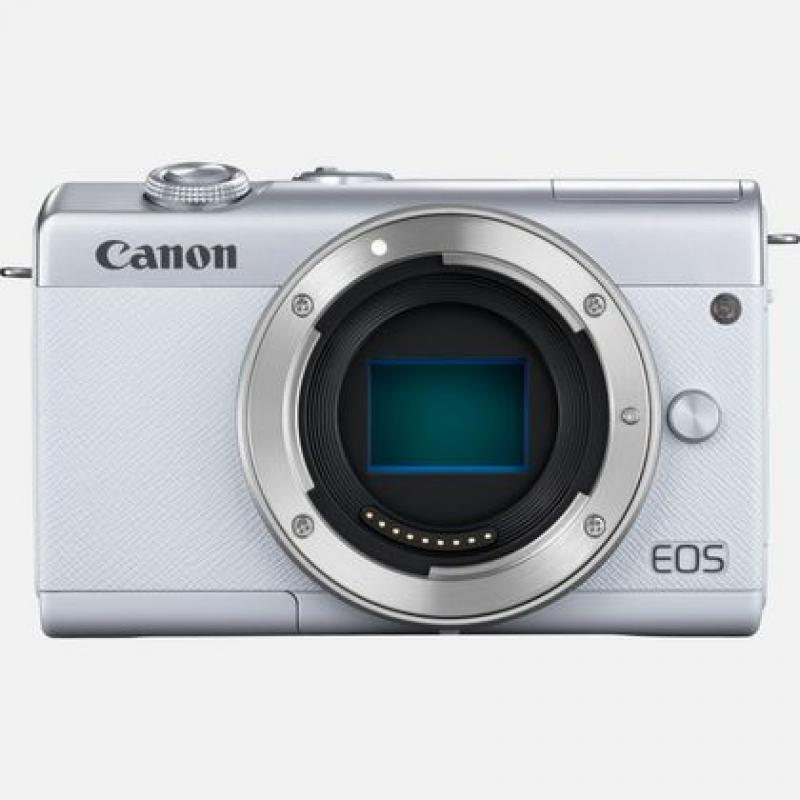 Canon M200 MILC 24,1 MP CMOS 6000 x 4000 Pixeles Blanco - Imagen 1