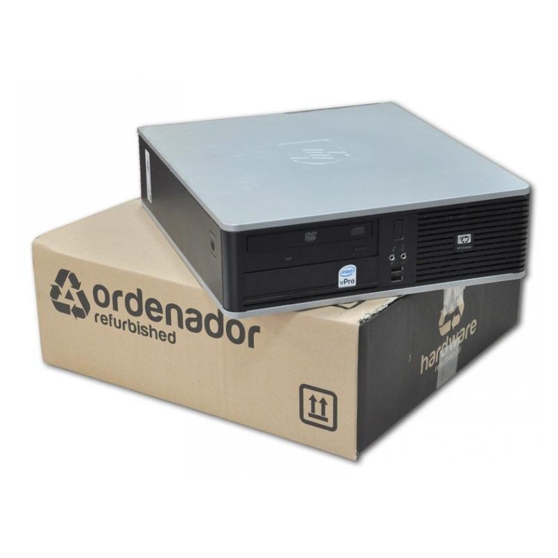 HP DC5700 SFF Intel Pentium Dual Core E2160 1.8 GHz. · 2 Gb. DDR2 RAM · 80 Gb. SATA · DVD · COA Windows XP Professional actualiz