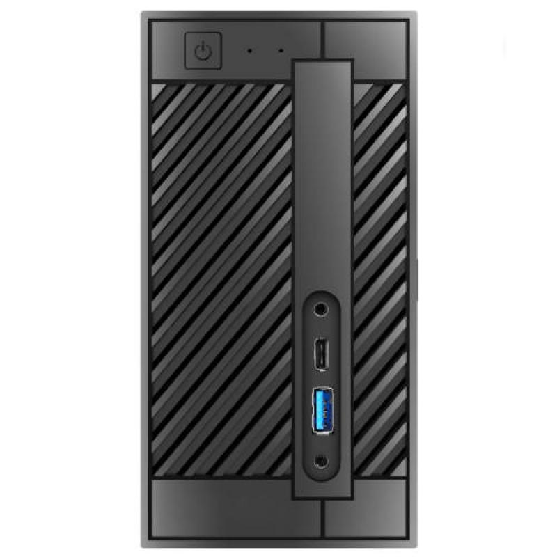 BAREBONE MINI PC ASROCK DESKMINI A300,AMD,AM4,2XDDR4 (HASTA 32MB),HDMI,GBLAN+WIFI+BT,2SATA 3.0+2M.2,2USB3.1,SIN S.O. - Imagen 1