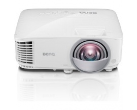 Proyector DLP BenQ MX825ST Enfoque corto - 3D Ready - 720p - HDTV - 4:3 - Frontal - Interactive - 200 W - 5000 Hora(s) Normal Mo