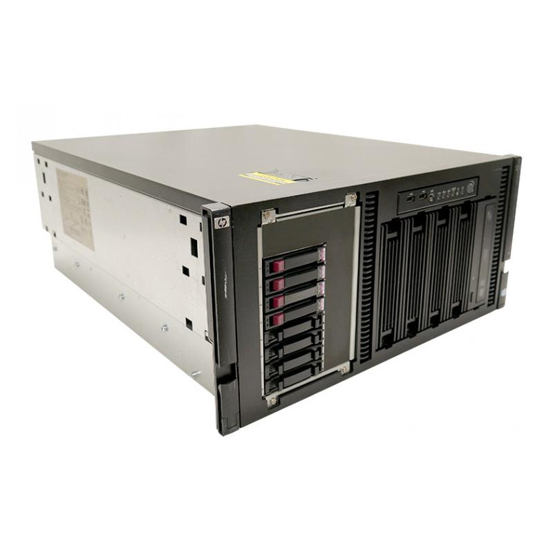 HP ML350 G6 RACK Intel Xeon Quad Core E5520 2.27 GHz. · 24 Gb. DDR3 ECC RAM · 15 bahías (9 vacías ) · 2x 72 Gb. SAS 2.5'' 15000
