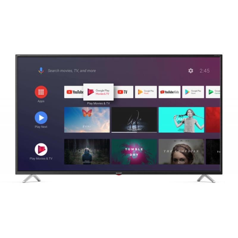 "Sharp 55BL3EA TV 139,7 cm (55"") 4K Ultra HD Smart TV Negro - Imagen 1"