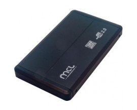 """Carcasa de unidad MCL - Externo - 1 x Bahía Total - 1 x Bahía 2,5"""" - USB 2.0 - Imagen 1"""