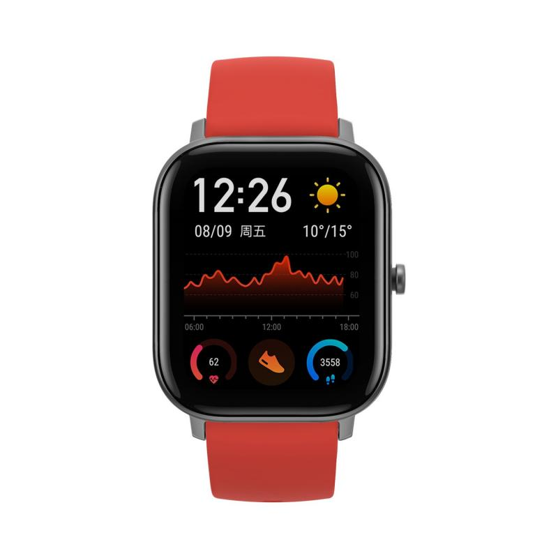 "GTS reloj inteligente Oscuro metalizado AMOLED 4,19 cm (1.65"") GPS (satélite) - Imagen 1"