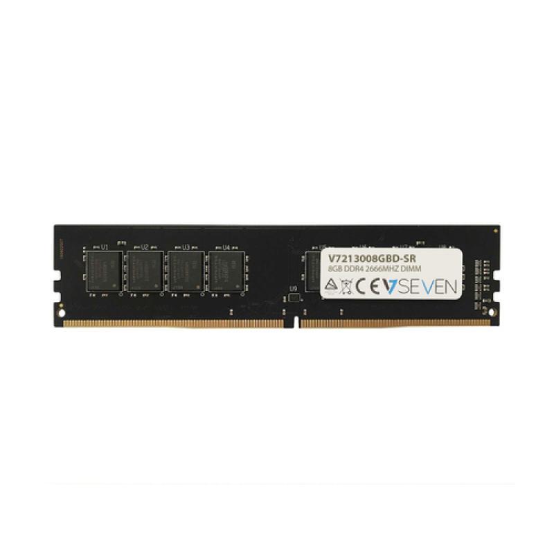 V7 8GB DDR4 PC4-21300 - 2666MHZ 1.2V DIMM Módulo de Memoria Ordenador Personal - V7213008GBD-SR - Imagen 1
