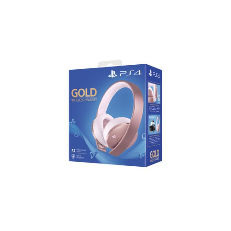 Sony Gold Wireless Headset Auriculares Diadema Oro rosa - Imagen 1