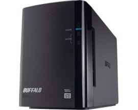 Sistema de almacenamiento DAS Buffalo DriveStation Duo - 2 x HDD admitido - 2 x HDD Instalado - 8 TB Capacidad de HDD Instalado