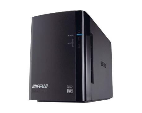 Sistema de almacenamiento DAS Buffalo DriveStation Duo - 2 x HDD admitido - 2 x HDD Instalado - 4 TB Capacidad de HDD Instalado