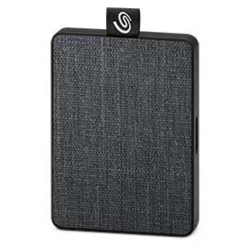 Seagate STJE500400 unidad externa de estado sólido 500 GB Gris - Imagen 1