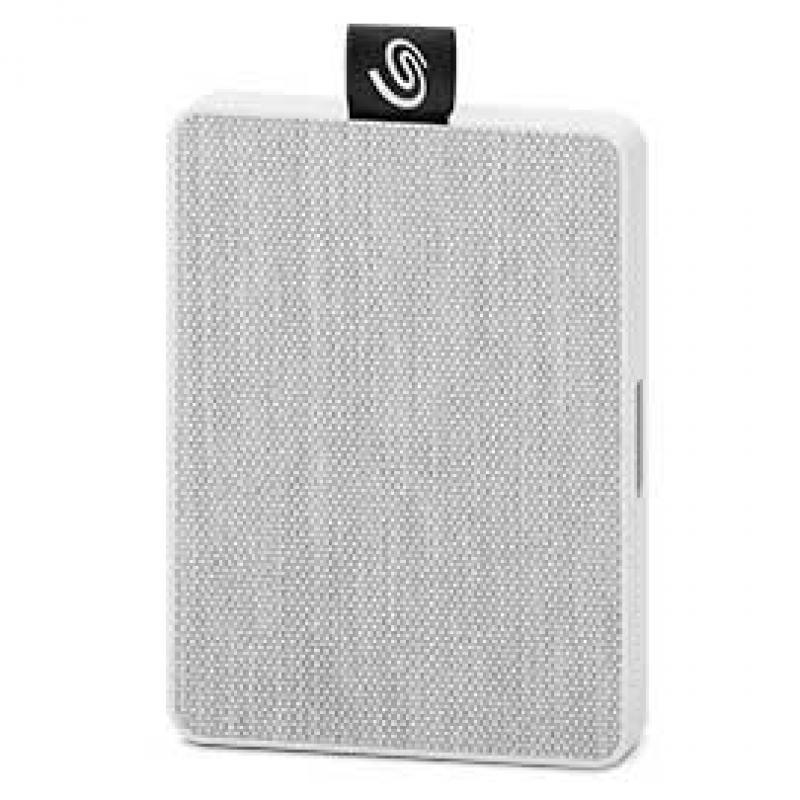 Seagate STJE500402 unidad externa de estado sólido 500 GB Blanco - Imagen 1