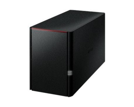 Sistema de almacenamiento NAS Buffalo LinkStation 220 - Externo - Marvell ARMADA 370 800 MHz - 2 x HDD admitido - 2 x HDD Instal