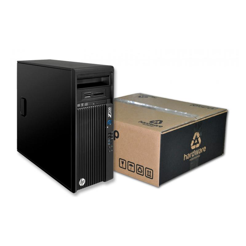 HP WorkStation Z230 Torre Intel Core i7 4790 3.6 GHz. · 16 Gb. DDR3 ECC RAM · 256 Gb. SSD · nVidia Quadro K2200 4GB DDR5 · Windo