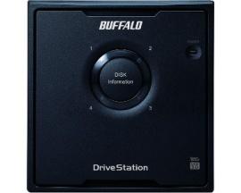 Sistema de almacenamiento DAS Buffalo DriveStation Quad HD-QH24TU3R5 - Externo - 4 x HDD admitido - 4 x HDD Instalado - 24 TB Ca