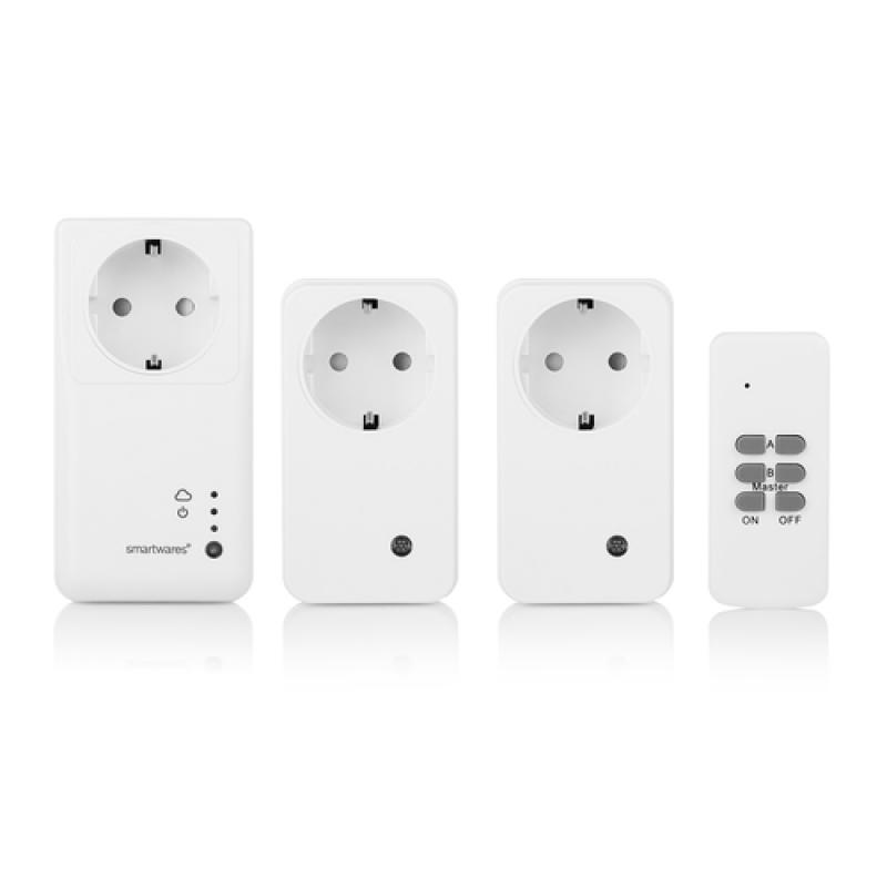 Smartwares Set enchufe Smart de interior set SH5-SET-GW - Imagen 1
