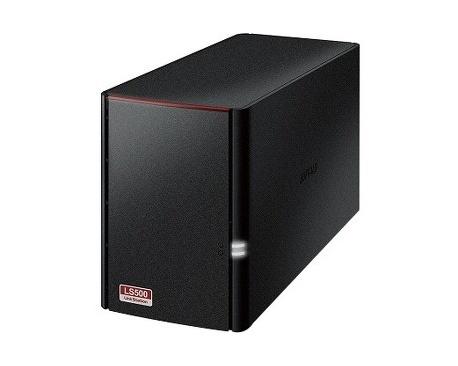 Sistema de almacenamiento NAS Buffalo LinkStation LS520D - De Escritorio - Dual-core (2 Core) 1,10 GHz - 2 x HDD Instalado - 4 T