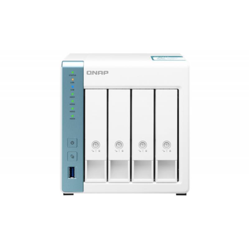 QNAP TS-431K servidor de almacenamiento Ethernet Tower Blanco NAS - Imagen 1