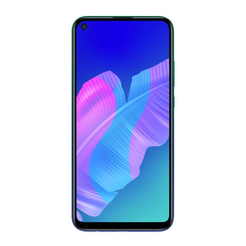 "P40 lite E 16,2 cm (6.39"") 4 GB 64 GB SIM doble 4G MicroUSB Azul Android 9.0 4000 mAh - Imagen 1"