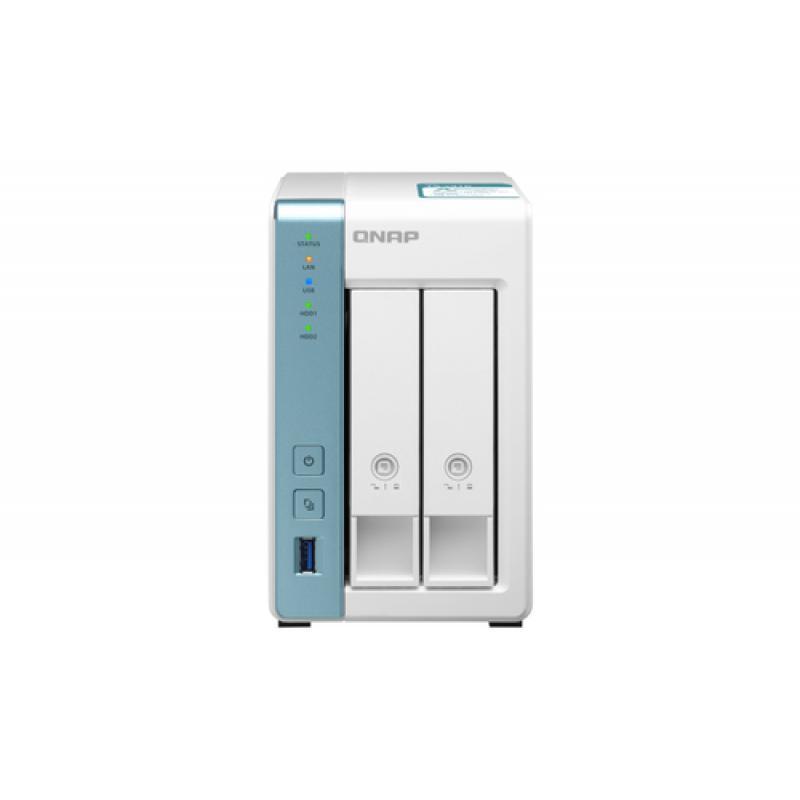 QNAP TS-231K servidor de almacenamiento Ethernet Tower Blanco NAS - Imagen 1