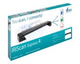 Escáner de superficie plana I.R.I.S. IRIScan Express 4 - 1200 ppp Óptico - 8 ppm (Mono) - 8 ppm (Color) - USB - Imagen 1