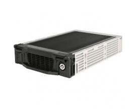 "StarTech.com Rack Móvil Aluminio para Disco Duro HDD SATA de 3,5"" Pulgadas con Bandeja Bahía de 5,25"" - 1 x Bahía Total"
