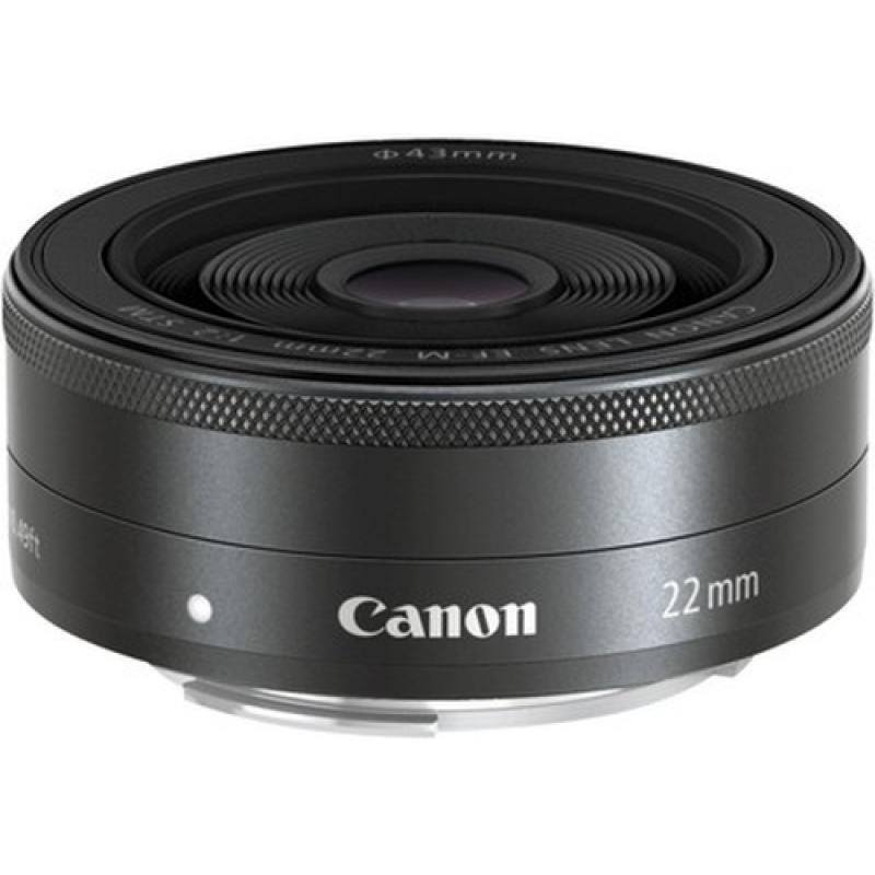 Canon EF-M 22mm f/2 STM Objetivo ancho Negro - Imagen 1