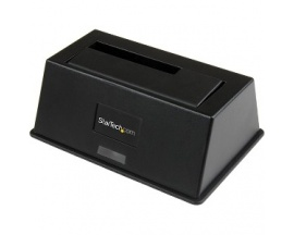 "StarTech.com Estaci - 1 x Bahía Total - 1 x Bahía 2,5""/3,5"" - Soporte UASP - Seria ATA/600 - USB 3.0 - Imagen 1"