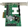 StarTech.com Tarjeta Controladora SATA III RAID PCI Express 2.0 con 2 Ranuras mSATA Emparejamiento HyperDuo para SSD - Compatibi
