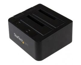 StarTech.com Base de Conexión USB 3.1 Gen2 10Gbps con UAS de 2 Bahías para Disco Duro o SSD SATA de 2,5 o 3,5 Pulgadas - 2 x HDD